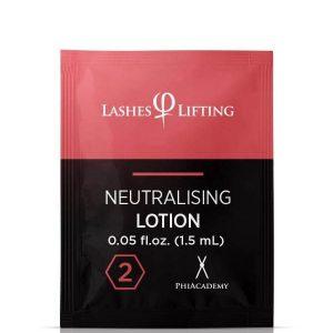 LASHES LIFTING NEUTRALISING LOTION SACHETS 1,5ML 10PCS