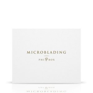 MICROBLADING PHI BOX- you have the basic microblading tools you need to draw artificial eyebrows, including printed latex for training
