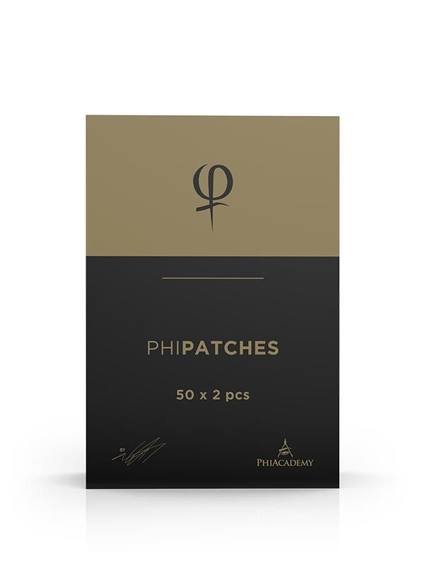 PHI PATCHES 50X2PCS PhiPatch is a film that is used to protect against bacteria after microblading or permanent make-up treatments.